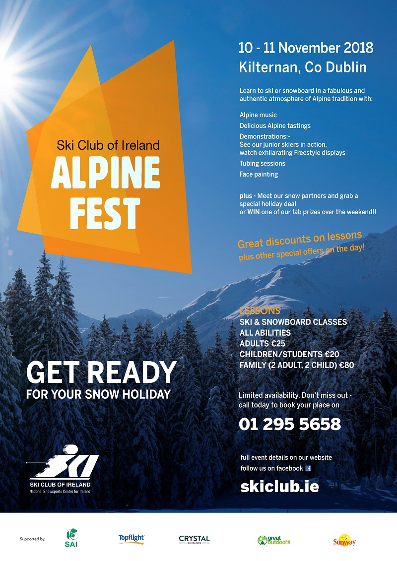 Alpine Fest 2018 Information
