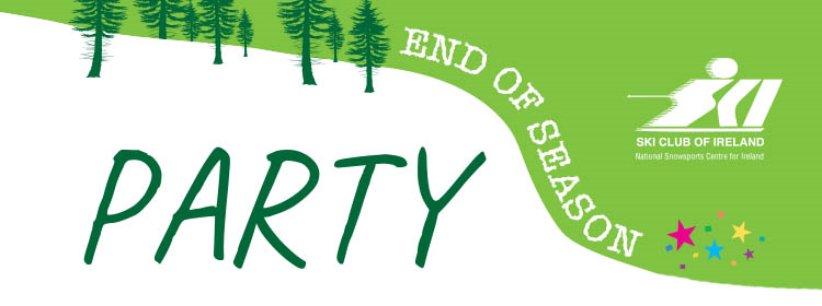 End of Season Party 29th April