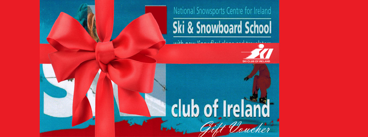 Gift vouchers for all levels of skiing or snowboarding