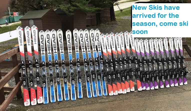 New skis for the new season at the ski club of ireland