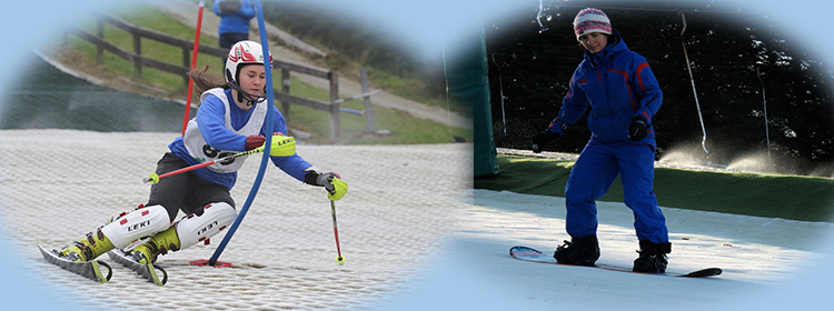 skiing and snowboarding at the Ski Club of Ireland