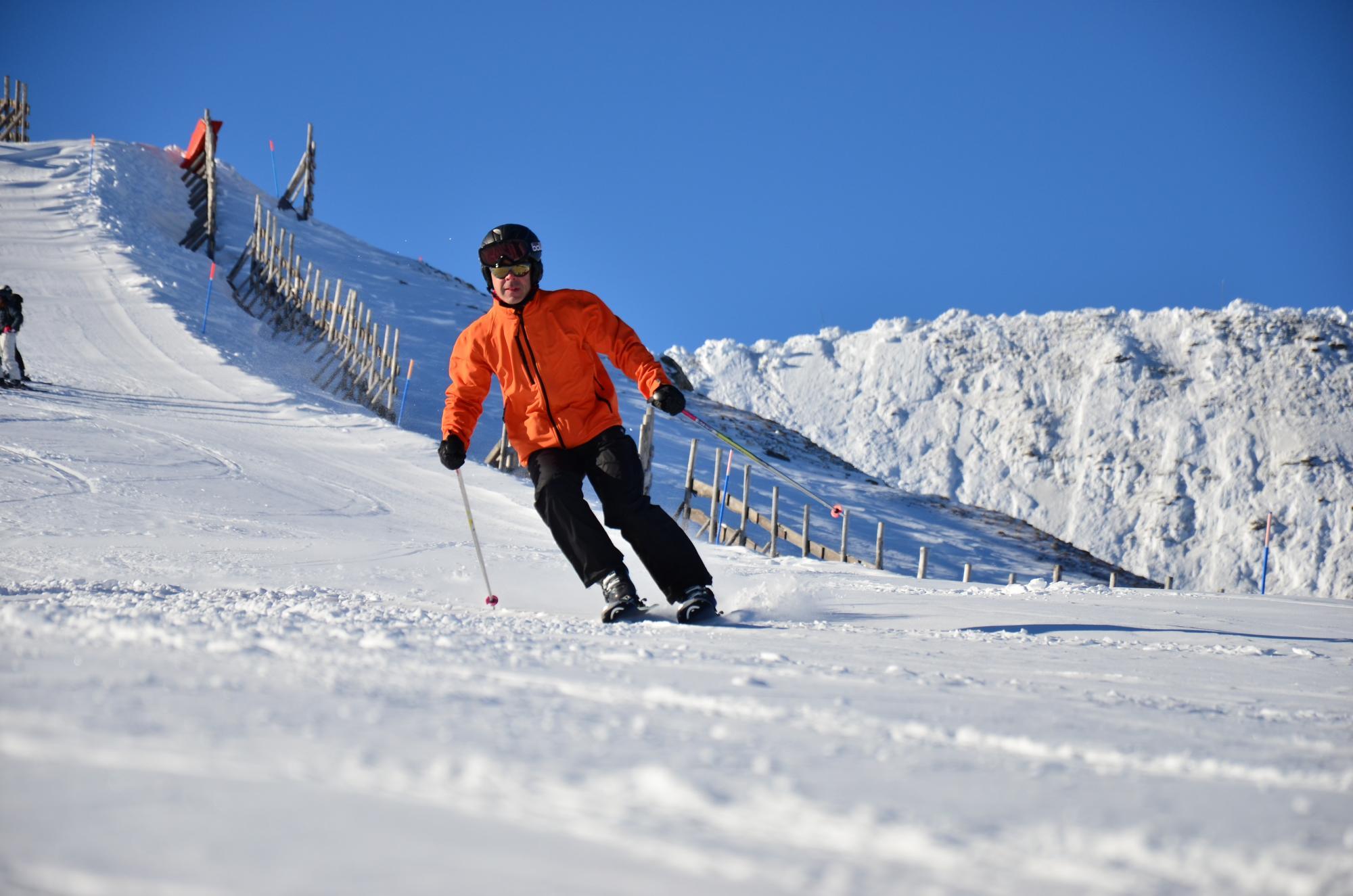 Cruising on Ski Club of Ireland group holiday