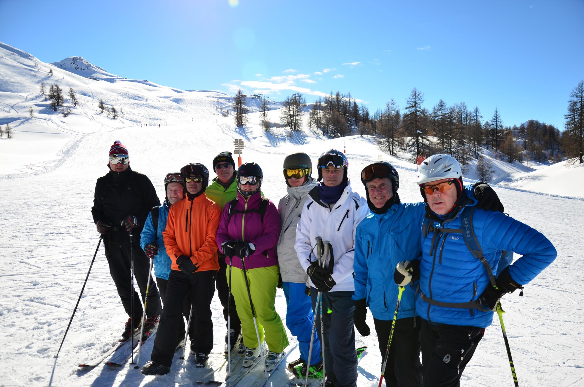 Ski Club group holiday at Courchevel