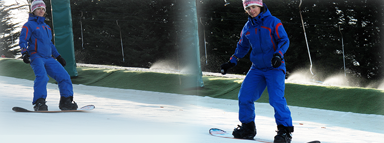 learn to snowboard