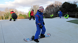 snowboarding and other activities tubing