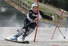 ski racing at ski club Kilternan