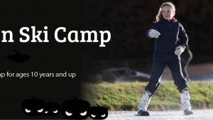 Learn to Ski Halloween Camp for Kid age 10 to 18