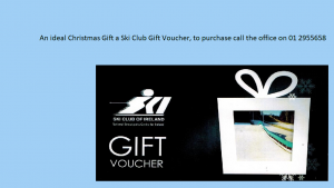 Ski Club gift vouchers for Sale